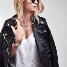 You need a leather jacket for fall. Get yours on ShopStyle!