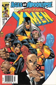 Cover for The Uncanny X-Men (Marvel, 1981 series) #378 [Direct Edition]
