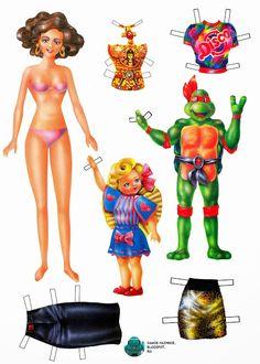 Линда (Linda) бумажные куклы 90 е киоск роспечать