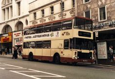 South Yorkshire Transport bus, (looks like) High Street, Sheffield - not sure when.