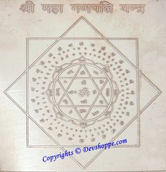 Just have a look at our new Divine product Sri Maha Ganpati ... . Check it out http://awesomestore-18.myshopify.com/products/sri-maha-ganpati-ganesha-yantra-on-copper-plate?utm_campaign=social_autopilot&utm_source=pin&utm_medium=pin
