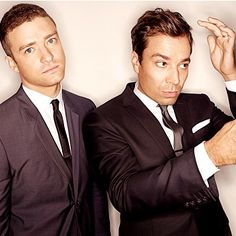 Just have to add....Justin Timberlake and Jimmy Fallon. Two of my very favorite people in the ENTIRE WORLD!