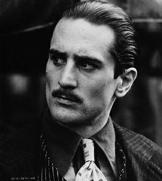 Rober DeNiro. Actor. Young Vito Corleone. My forever favorite.