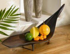 Coconut palm leave bowl