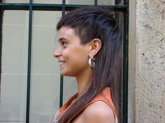 Xtreme mullet. So cute!