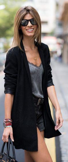 Dark Neutrals Casual Chic Outfit by Ms Treinta