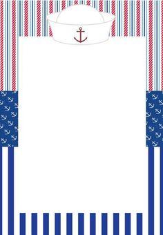 Invitaciones de Nautica (marinero)                                                                                                                                                                                 Más