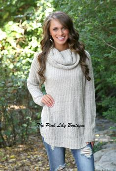 Do You Wanna Go My Way Sweater - The Pink Lily Boutique