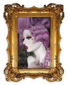 Rococo Powdered Wig La Falonne Rococo Dandy by AntoinettesAtelier, $449.95