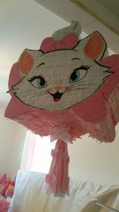 Second Birthday Ideas, Summer Birthday, Cat Birthday, 1st Birthday Parties, Kitten Party, Cat Party, Aristocats Party, Cat Themed Parties, Marie Cat