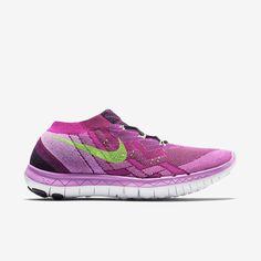 NIKE FREE 4.0 FLYKNIT WOMENS RUNNING SHOES 718420 005 6-9 US Fuchsia Flash/Black #Nike #RunningCrossTraining