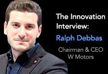 Ralph R. Debbas, Chairman & CEO of W Motors S.A.L shares his thoughts and insights on innovation, technology and #hypercars.