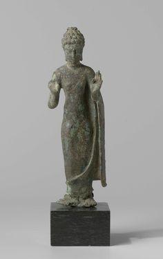 Staande Boeddha, Anonymous, 600 - 800 Standing Buddha Statue, Buddha Statues, Art Thai, Indonesian Art, Javanese, Guanyin, 12th Century, Southeast Asia, Asian Art