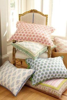 preppy pillows!