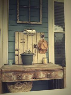 21 Cool Tips To Steampunk Your Home, use refurbished, distressed or reycyled furniture. Solid wood is always great, bonus if it's hardwood.