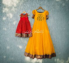 Like mother... Like daughter...!!!This festive season compliment each other with this beautiful mother daughter dresses.Dress Code : LR-PW 88For quotes please email lekhareddydesigns@gmail.com or Whatsapp/ call on +91 8790797505 . 14 September 2017