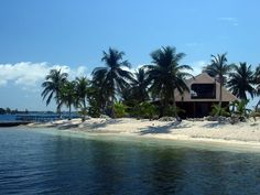 tropical homes | Tropical Island Vacation Rental - Little Cay - Utila, The Bay Islands ...