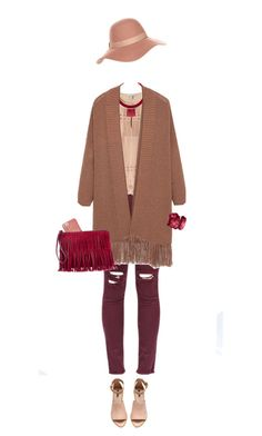 """""""Fall Berry-Colors"""" by lorantin ❤ liked on Polyvore featuring J.Crew, Swarovski, H&M, MANGO, FOSSIL, Accessorize and Patricia Nash"""