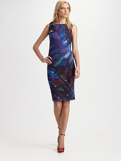 Printed Twist Dress by Erdem  #Dress #Erdem