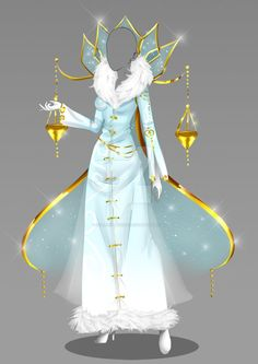 (closed) Auction Adopt - Outfit 358 by CherrysDesigns on DeviantArt - (OPEN) Auction Adopt – Outfit 358 by CherrysDesigns on DeviantArt - Clothing Sketches, Dress Sketches, Dress Drawing, Drawing Clothes, Fashion Design Drawings, Fashion Sketches, Pretty Outfits, Beautiful Outfits, Fantasy Dress