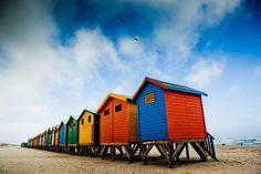 shacks on the beach - Google Search