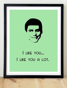 Movie Quote Poster Dumb and Dumber Jim by KremerPrintandDesign