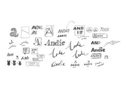 Andie Logo Sketches