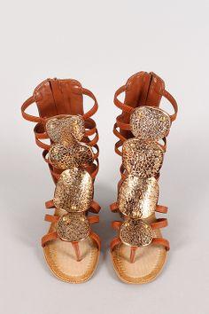 Murphy Strappy Open Toe Gladiator Sandal