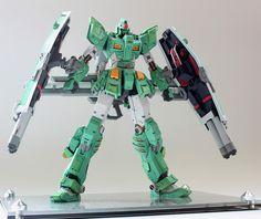 1/100 FA-78-1 Full Armor Gundam [Heavy Type] - Painted Build