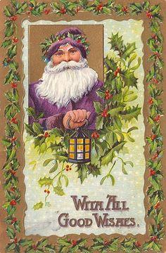 Love purple Santas!