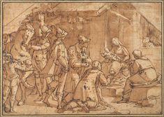 Luca Cambiaso, 1527-1585  https://www.google.com/search?q=luca cambiaso