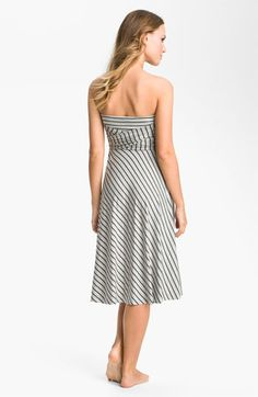 3971a1a5f4 Elan Stripe Convertible Cover-Up Dress available at #Nordstrom Women's  Swimsuits & Cover Ups