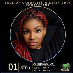 BREAKING NEWS ACROSS THE WORLD🌎    QUEEN HORLA BLOG : Face of CandyCity Nigeria unveils 2017 contestants...