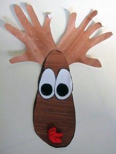 Reindeer Craft Hands