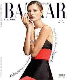 HBDic13 Cover 800x940 Ava Smith Stars in Harpers Bazaar Latin America by Blossom Berkofsky