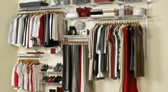 Cool 10 Clever Closet Systems You Should At least Try Once for you. This is 10 Clever Closet Systems that could use to declutter your space. Here, you'll also find yourself happy -I guess- when you want to organize your space.