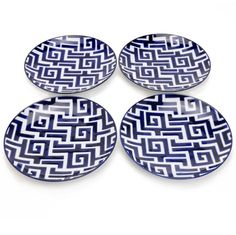 Blue and White Moroccan Plates avail in store