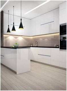 dream home Interior design ideas for a luxury kitchen decor. On this kitchen, you can see extraordinary furniture design pieces Luxury Kitchen Design, Kitchen Room Design, Kitchen Cabinet Design, Luxury Kitchens, Home Decor Kitchen, Interior Design Kitchen, Home Kitchens, Kitchen Furniture, Kitchen Ideas