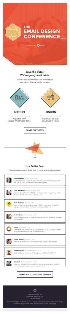 13 Ejemplos de diseños de email que impactan.