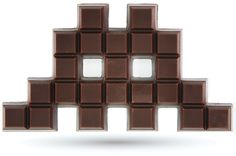 Chocolat Space Invader Chocolat space invader choses