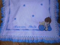 manta bordadas para bebe ile ilgili görsel sonucu