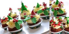 Christmas cupcakes by Beba
