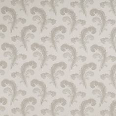 Swansbrook Dove Grey Cotton Mix Curtain Fabric