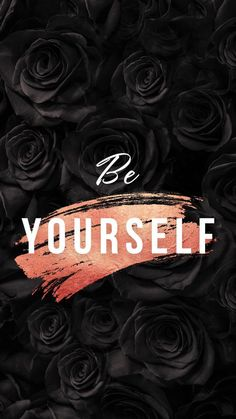 Be yourself // wallpaper, backgrounds - HunterTani Be your. - Be yourself // wallpaper, backgrounds – HunterTani Be yourself // wallpaper - Black Wallpaper Iphone, Phone Wallpaper Quotes, Quote Backgrounds, Dark Wallpaper, Cute Wallpaper Backgrounds, Tumblr Wallpaper, Wallpaper Wallpapers, Black Wallpaper For Girls, Wallpaper Ideas