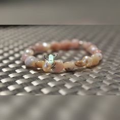 A personal favorite from my Etsy shop https://www.etsy.com/listing/491548490/gemstone-nuggets-and-pearl-bracelet