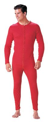 """Red Union Suit Constructed of cotton for comfort.  Nine button front and vertical seat.SKU 6453Available in SizesS-XL       Reagan Tactical and Outdoor is a family run business in Knoxville, TN. Our location in the foothills of the Smoky Mountains gives us many opportu..."