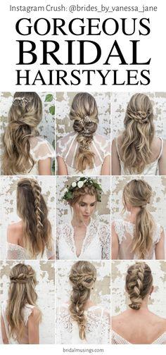 #50in50 || Brides by Vanessa Jane || Bridal Hairstyles || Bridal Musings Wedding Blog