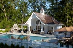 pool cabana by Eva0707