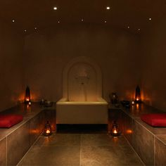 The hammam at The Spa in Dolphin Square - Find this and more of the best Spas at Red Online.