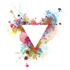 watercolour triangle logo - Google Search